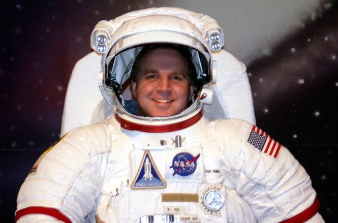 Los astronautas y sus comidas
