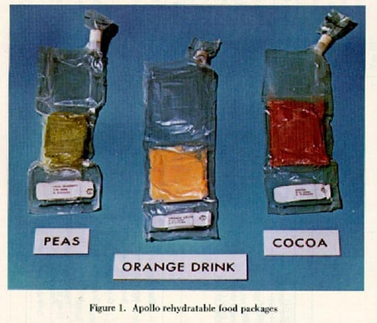 Bebidas astronautas