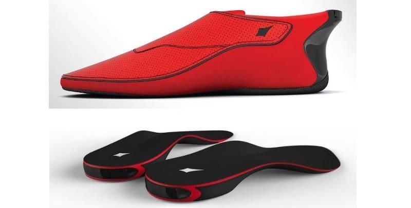 funcionamiento de los Zapatos inteligentes