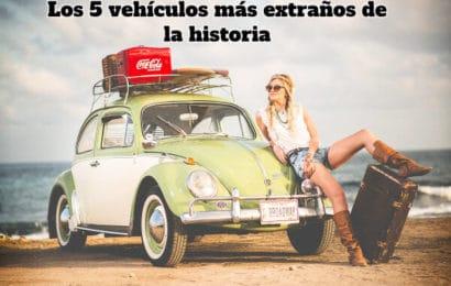 Los 5 vehículos más extraños de la historia