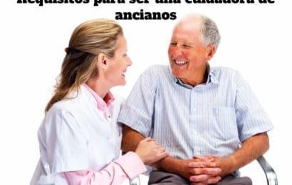Requisitos para una cuidadora de ancianos