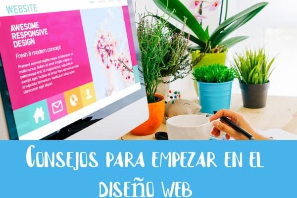 Consejos para empezar en el diseño web